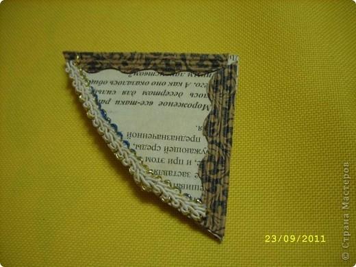 Вот моя закладочкака! Красиво смотрится на любых книгах... фото 1