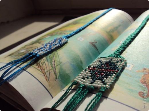 Бисерные закладочки фото 2