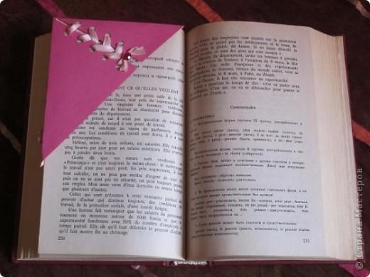 Мне нравится читать и изучать, что-то новое и конечно закладка бывает порой не заменимым помощником. Мне нравятся разные закладки, но предпочтение отдаю треугольной форме.   фото 4