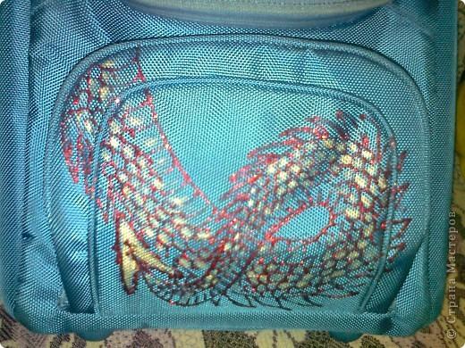 Моему Тимошке подарили синенький ранец. Удобный, но скучный. фото 5