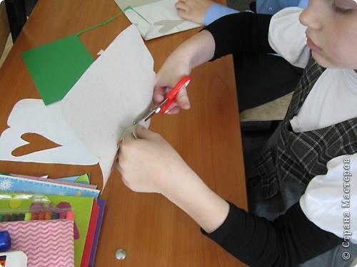 На занятиях сделали вот такую симпатичную мышку - закладку. фото 3