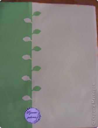 Саша решила выполнить обложку для дневника. фото 5