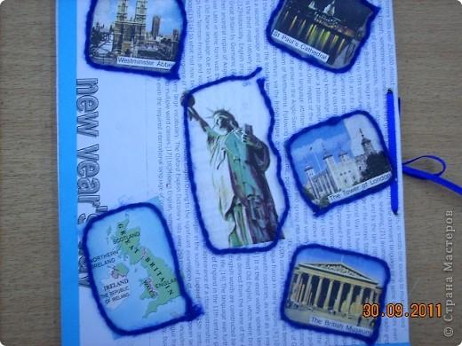 Обложка для тетради по английскому языку.  фото 3