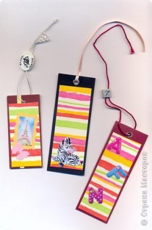 Такие закладки могут сделать те, кому совсем лень заниматься их изготовлением :) фото 1