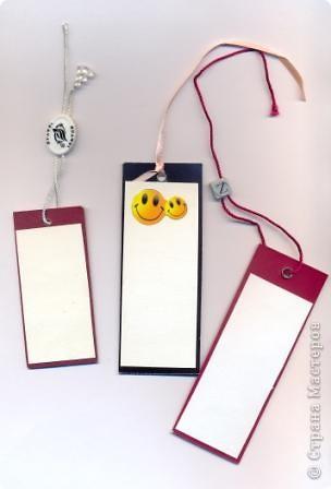 Такие закладки могут сделать те, кому совсем лень заниматься их изготовлением :) фото 3