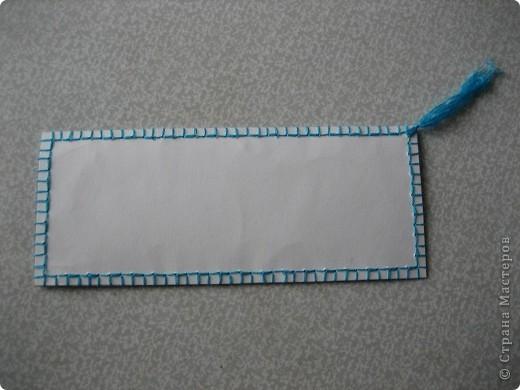 закладка для учебника математики в технике изонити.  фото 2