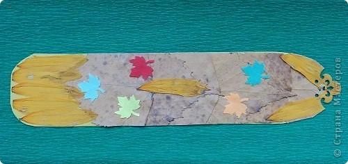 Осенняя закладка. фото 1