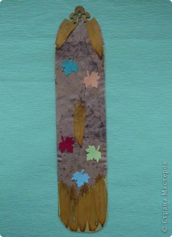 Осенняя закладка. фото 3