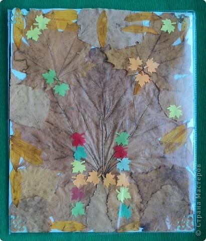 Осенняя обложка для тетради. фото 1