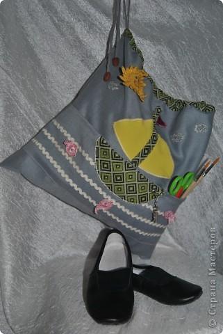 Такую морскую сумочку носит мой сынка в садик, но думаю и в школу тоже подойдет :-) фото 1