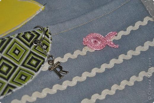 Такую морскую сумочку носит мой сынка в садик, но думаю и в школу тоже подойдет :-) фото 7