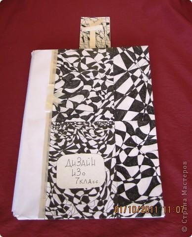 Закладка для учебника ИЗО. Все работы выполнены в едином стиле. фото 2