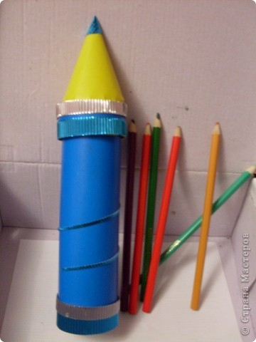 Пенал для хранения цветных карандашей фото 1