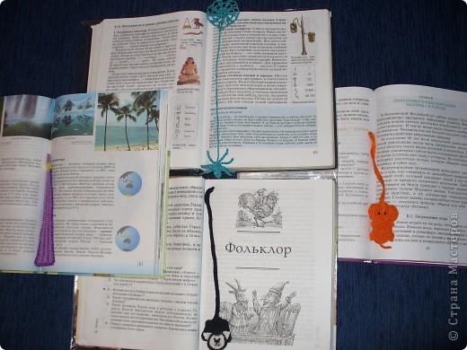 Вот такие закладочки для учебников у меня получились фото 2