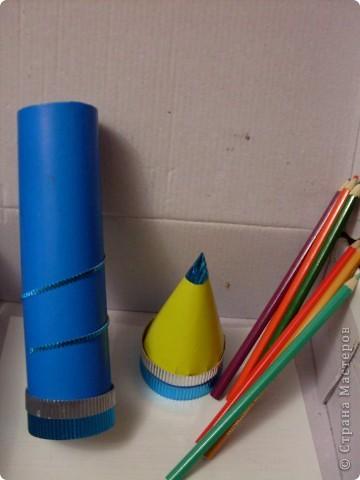 Пенал для хранения цветных карандашей фото 5