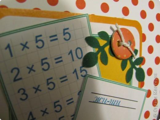Дочка-второклассница по просьбе учителя завела общую тетрадку для конспектов. Будут они ее вести до конца начальной школы. А называют тетрадь-ШПАРГАЛКА. Вот и обложечка для нее сообразилась. фото 5
