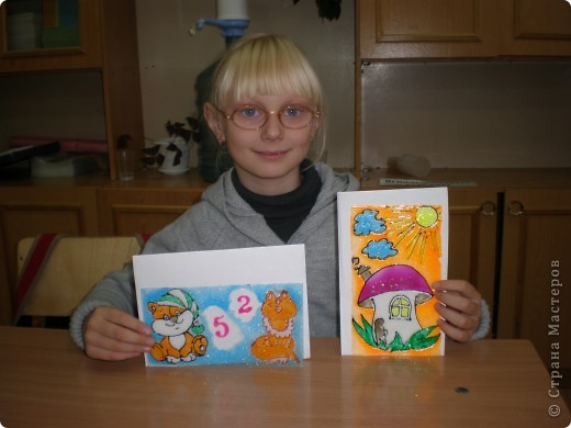Анна задумала нарисовать оценочную закладку. фото 7
