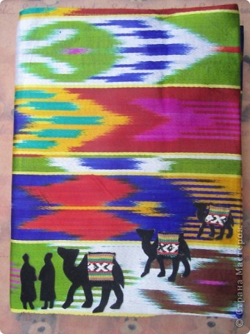 Обложка для учебника узбекского языка. Закончился переход через пустыню. Все очень рады и верблюды, и люди. Будут отдыхать, встречаться с друзьями, хвастаться, чего интересного привезли. Но для общения людям разных национальностей необходимо знать языки друг друга. Буду и я учить узбекский. фото 1