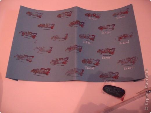 Вот такая обложка для дневника у меня получилась. фото 10