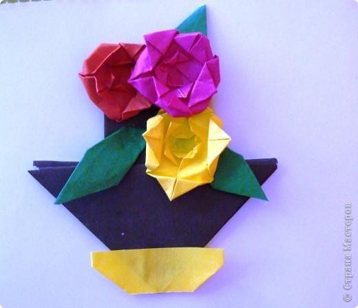 """Закладка - фигура стрела, розочки на основе базовой формы """"блинчик"""" фото 1"""