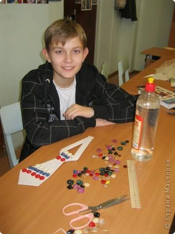 Галстук с российским триколором фото 3