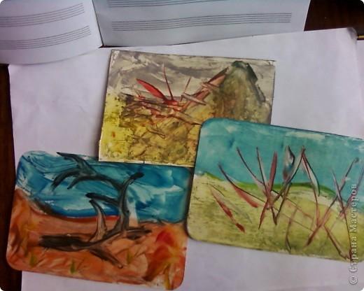 Закладки выполнены в технике энкаустика. фото 2