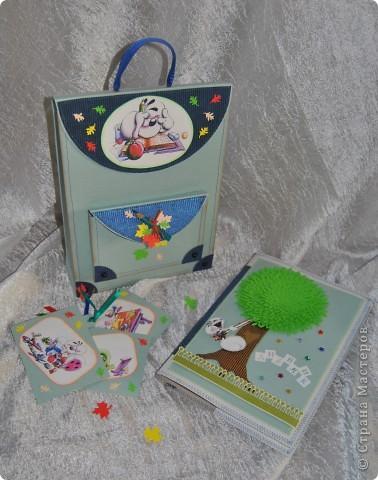Этот подарочек для первоклашки подготовила своему сынуле, хоть он еще и мал :-) фото 1