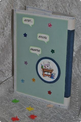 Этот подарочек для первоклашки подготовила своему сынуле, хоть он еще и мал :-) фото 6