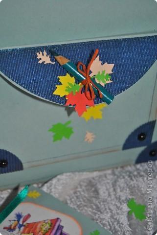 Этот подарочек для первоклашки подготовила своему сынуле, хоть он еще и мал :-) фото 8