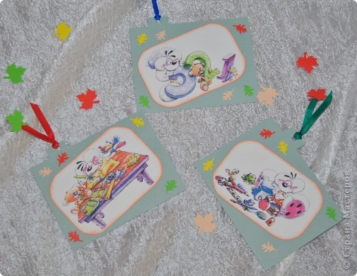 Этот подарочек для первоклашки подготовила своему сынуле, хоть он еще и мал :-) фото 9
