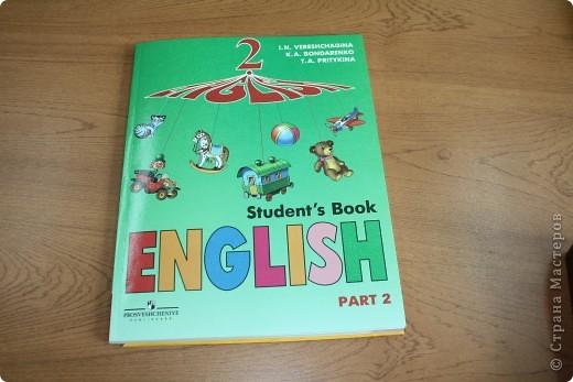 Вот такой теперь учебник английского у Миши.  фото 2