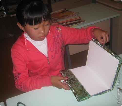 Приветствую жителей «Страны Мастеров»!!! Подготовила для конкурса «Школьный дизайн» обложку для учебника по технологии.   фото 5