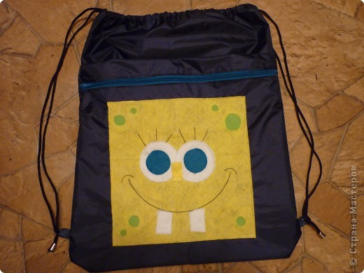 Рюкзак для сменной обуви и одежды фото 1