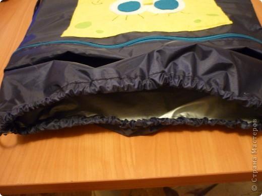 Рюкзак для сменной обуви и одежды фото 2
