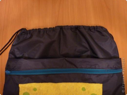 Рюкзак для сменной обуви и одежды фото 4