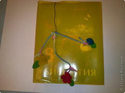 """Эта закладочка называется """"Цветочная жизнь"""". Три цветочка!!! фото 2"""