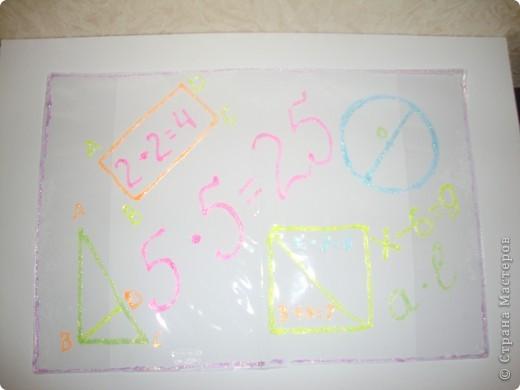 Обложка на тетрадь по математике