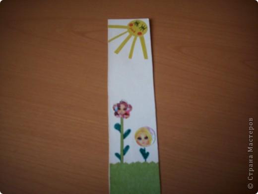 """Закладка """"Цветочки"""" фото 2"""