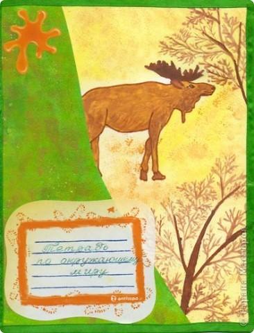 обложка для тетради по окружающему миру