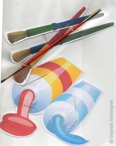 обложка для рабочей тетради по рисованию (вид спереди) фото 2