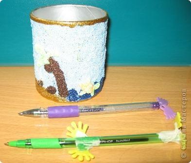 Стакан для ручек и карандашей фото 1