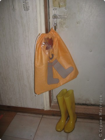 Мешок для резиновых высоких сапог фото 3