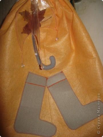 Мешок для резиновых высоких сапог фото 1