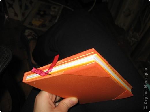 Мини-дневник (самодельный). Для удобства, на работу, решила сделать себе мини-дневник, куда буду записывать план работы и задания для уроков. фото 7