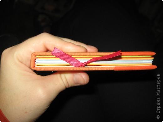 Мини-дневник (самодельный). Для удобства, на работу, решила сделать себе мини-дневник, куда буду записывать план работы и задания для уроков. фото 5