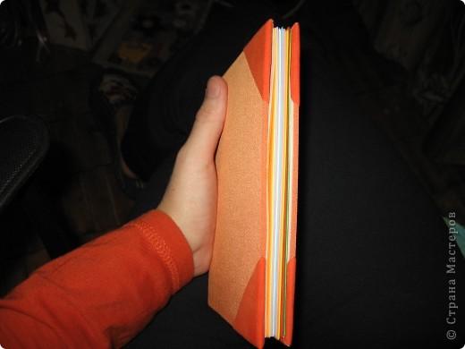 Мини-дневник (самодельный). Для удобства, на работу, решила сделать себе мини-дневник, куда буду записывать план работы и задания для уроков. фото 6