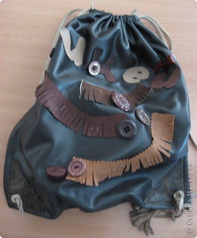 Рюкзачок-мешок фото 3