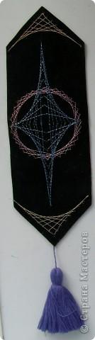 """Представленные закладки выполнены в технике """"изонить"""".  фото 2"""