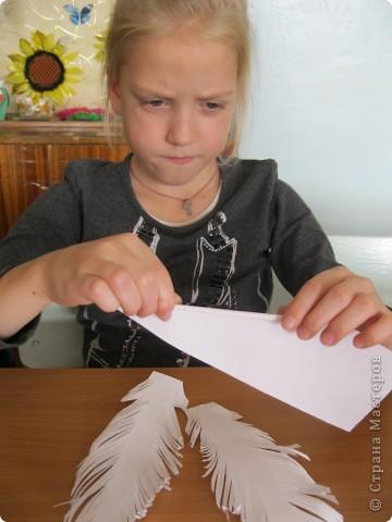"""Перо- закладка для учебника""""Литературное чтение"""" фото 4"""