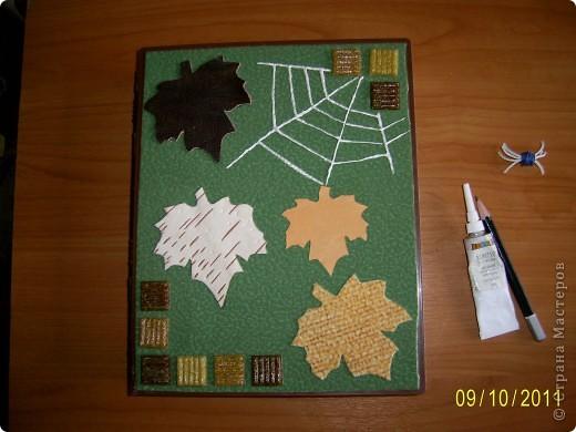 Я люблю работать с разными материалами: кожей, берестой, бумагой, а их где-то нужно хранить. Вот я и придумал папку- коробку, настоящую кладовую, чтобы все нужное для поделок было под рукой. фото 5